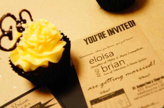Elo & Brian's Cupcake