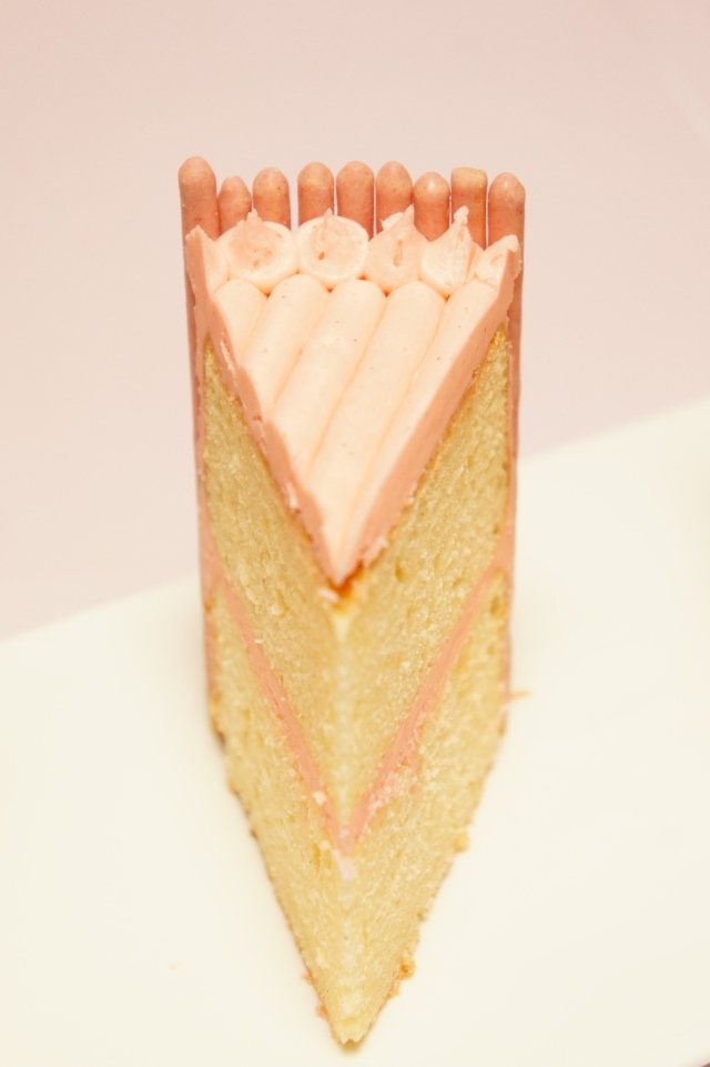 Pocky Cake
